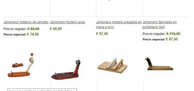 Support à Jambon en Inox à 45€